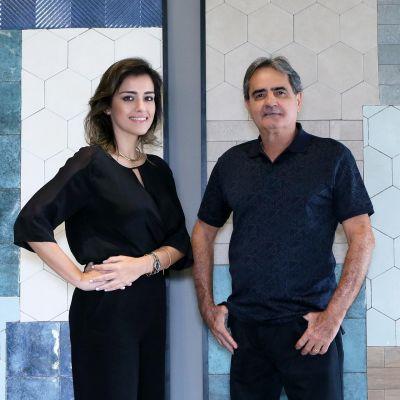 Hélio Ribeiro e Priscilla Marchetto